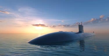 Submarino afundando