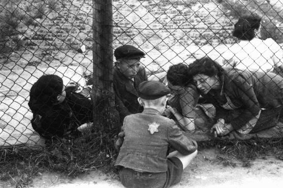 Criança durante o Holocausto