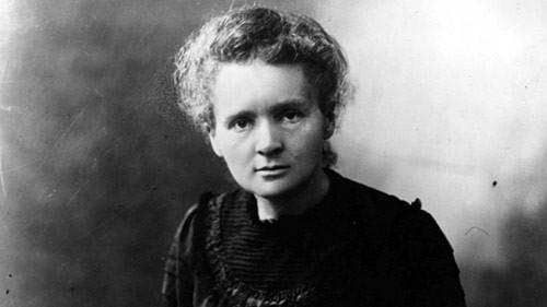 Fotografia de Marie Curie.