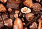 Foto de vários tipos de chocolate