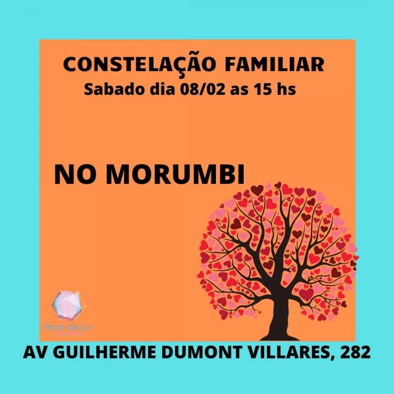 Flyer Constelação Familiar no Morumbi