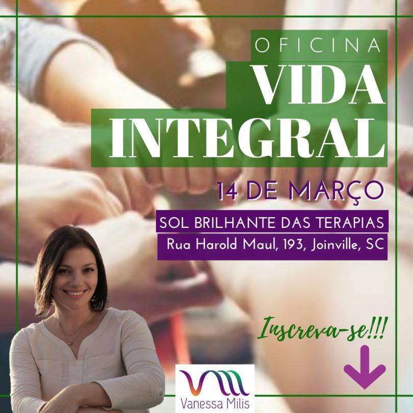 Flyer Oficina Vida Integral
