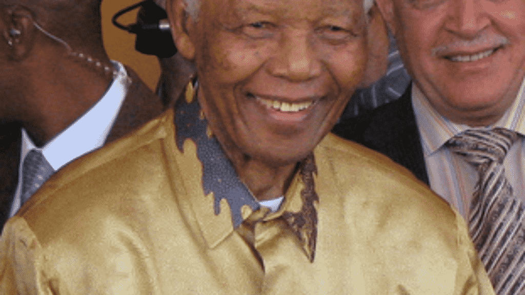 Foto de Nelson Mandela
