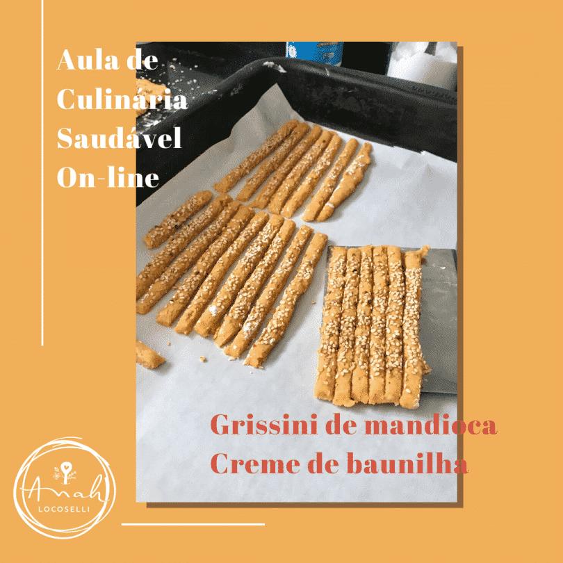 Flyer de Aula de Culinária Online