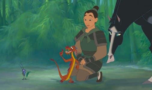 """Cena de filme """"Mulan"""""""