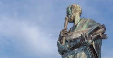 Estátua de Aristoteles