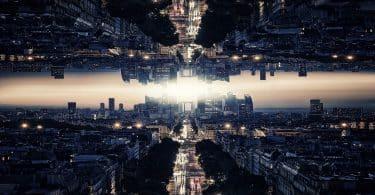 Foto de uma cidade.