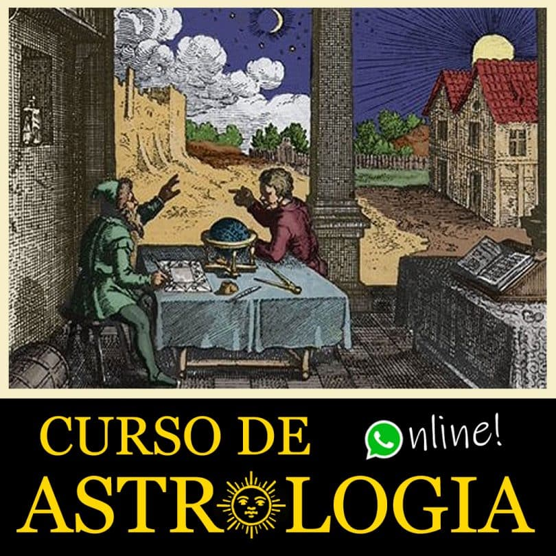 Flyer Curso de Astrologia Online