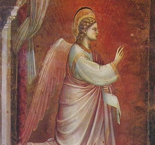 Pintura de Arcanjo Gabriel