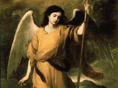 Pintura de Arcanjo Rafael