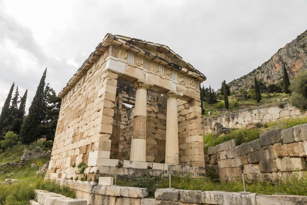 Delfo de Apolo na Grécia