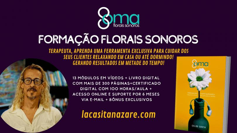 """Flyer evento """"Formação Florais Sonoros"""""""