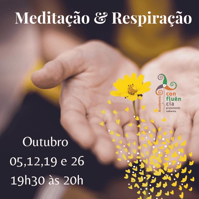 Flyer Meditação & Respiração