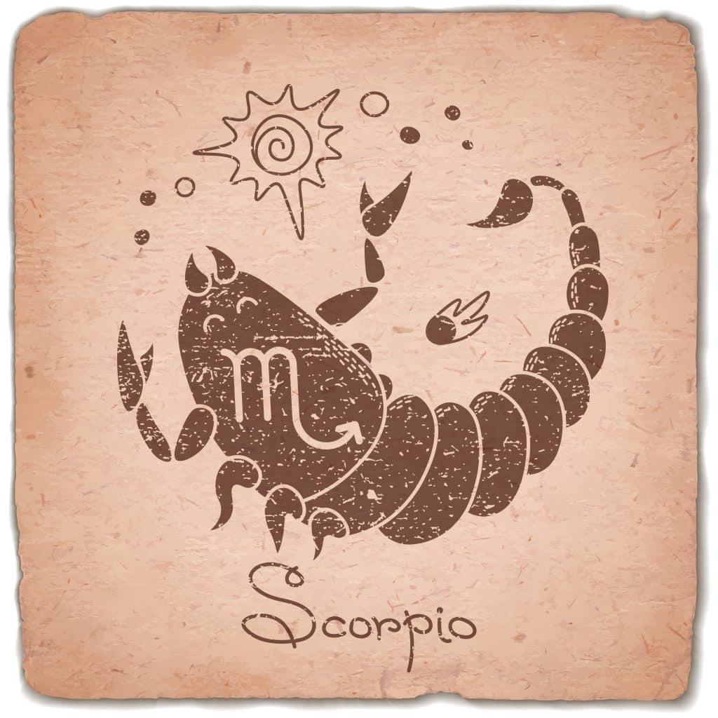 Imagem ilustrativa do signo de escorpião.