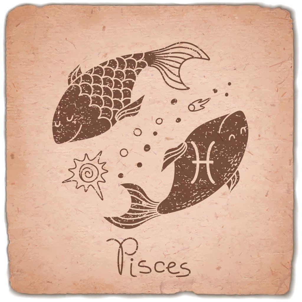 Imagem ilustrativa do signo de peixes.