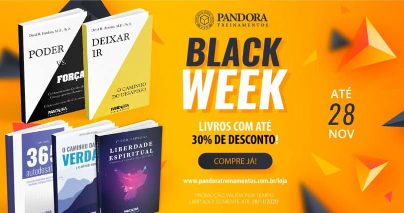 Flyer Black Week Pandora Treinamentos