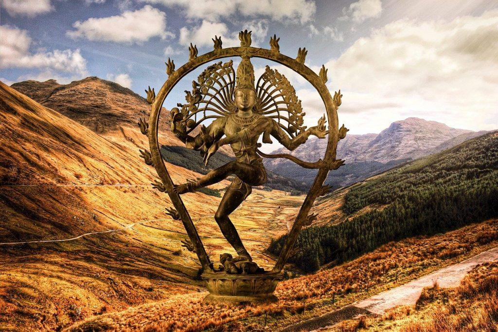 Representação do deus Shiva Nataraja.