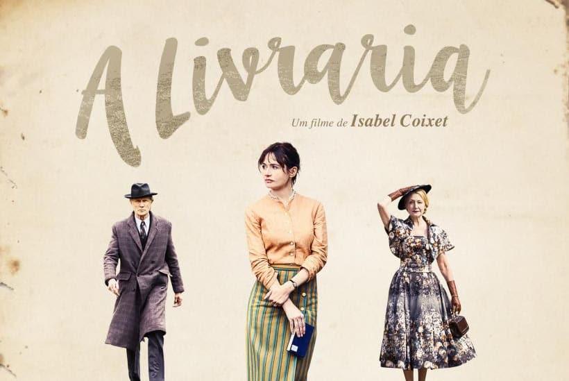 """Capa do filme """"A Livraria""""."""
