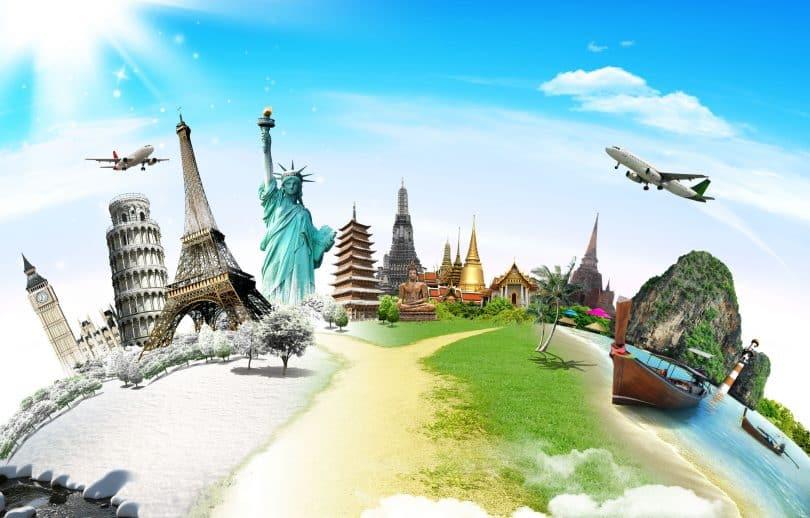 Viagem pelo conceito de monumento mundial