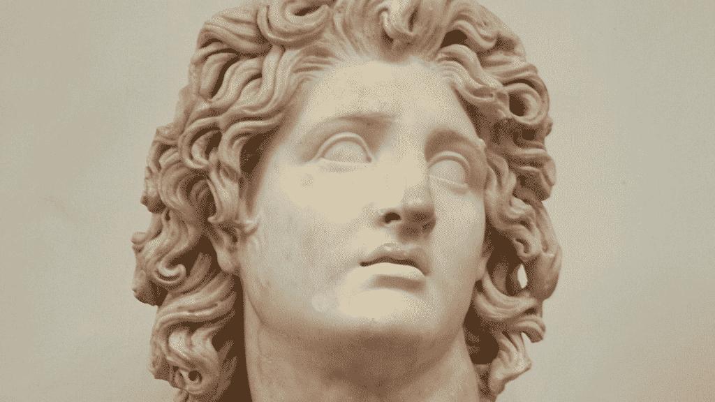 Escultura do Alexandre Magno