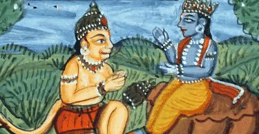 Cena de Ramayana