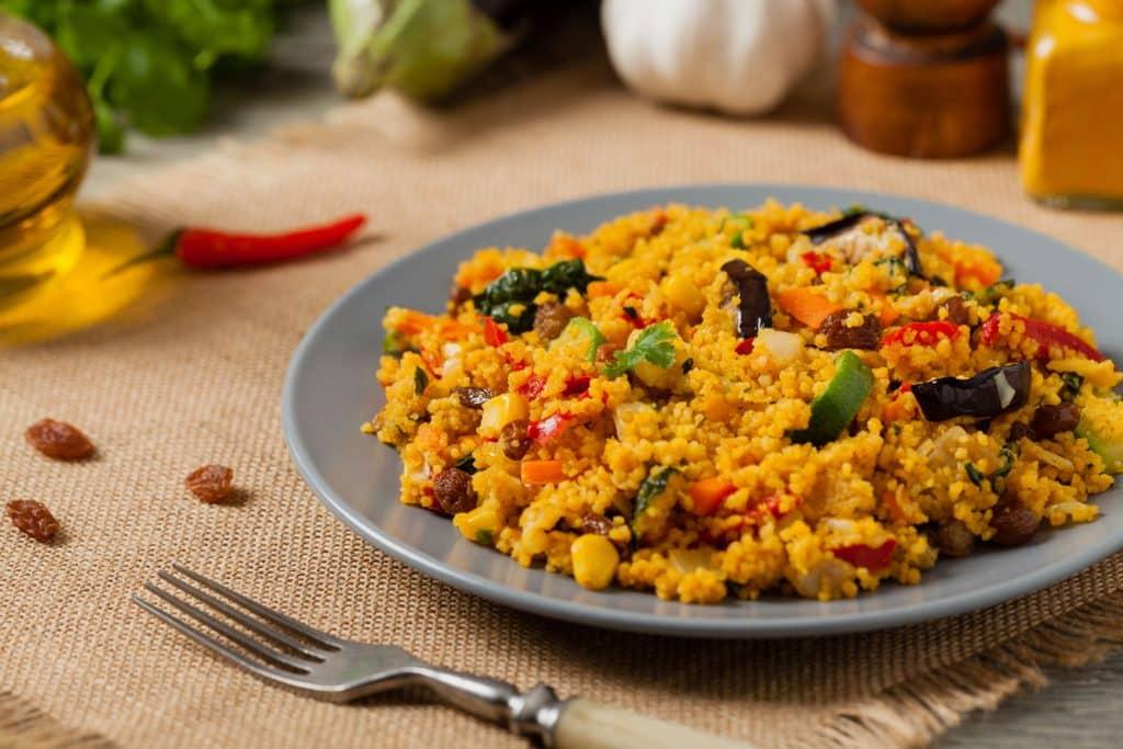 Prato Couscous marroquino