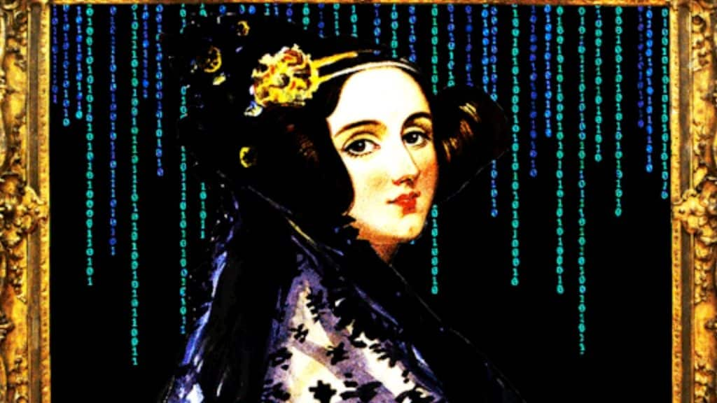 Pintura da matemática Ada Lovelace