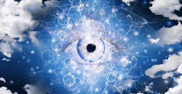 Olho que tudo vê sobre o universo