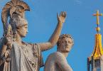 Escultura de deuses gregos