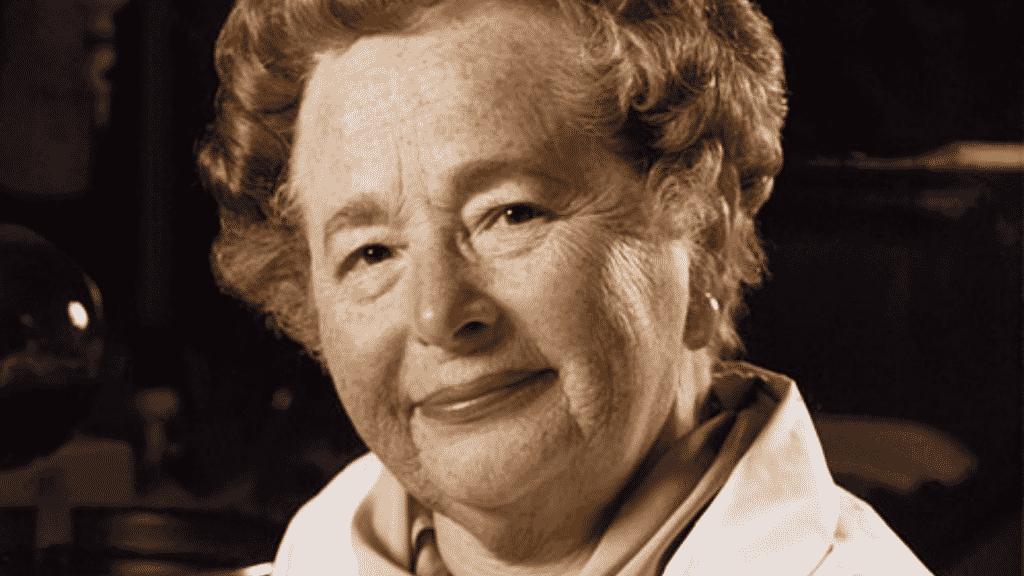 Foto da bioquímica Gertrude Belle Elion