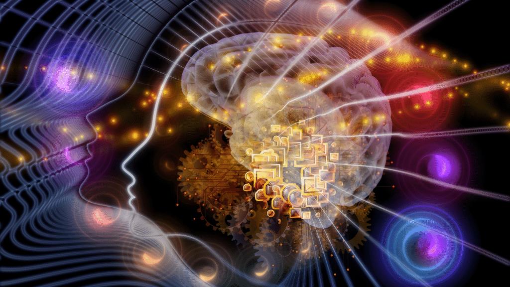 Imagem abstrata representativa da mente humana