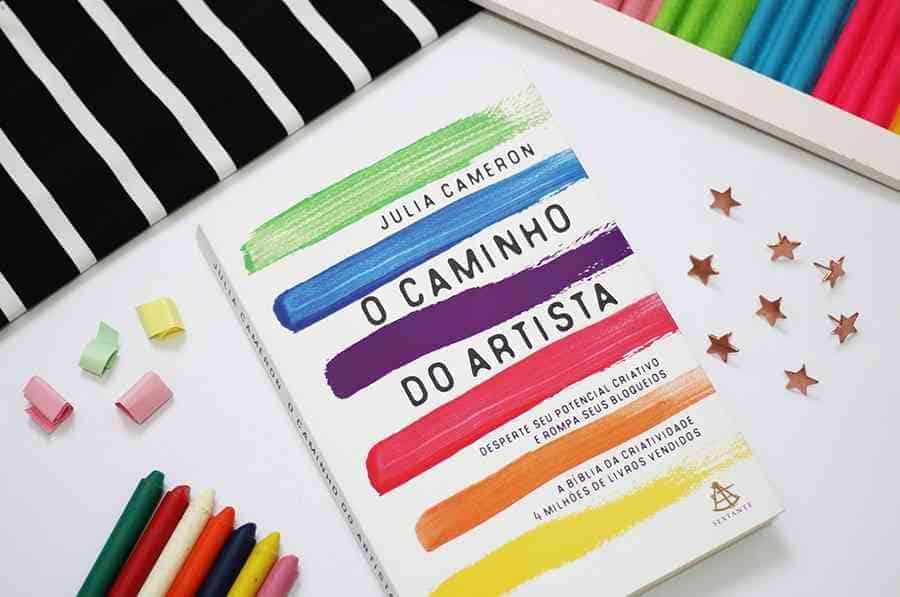 """Foto do livro """"O Caminho do Artista"""""""