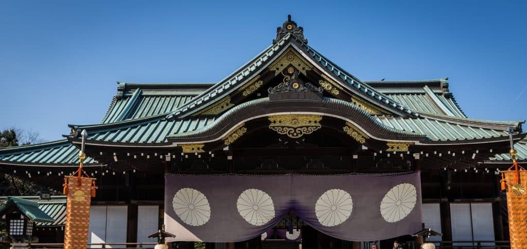 Templo no Japão.