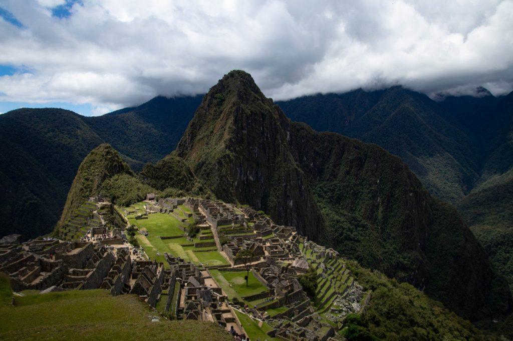 Fotografia de Machu Picchu, no Peru.
