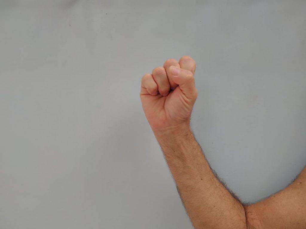 A mão em punho