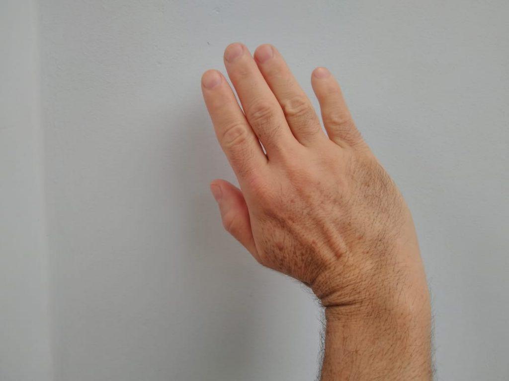 Palma da mão aberta