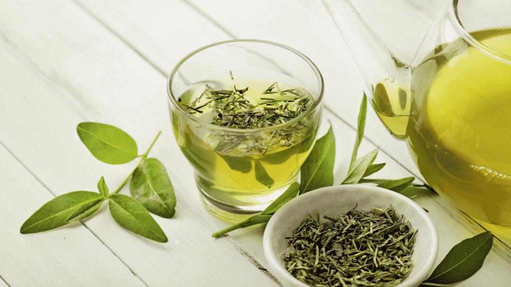 Imagem de chá verde
