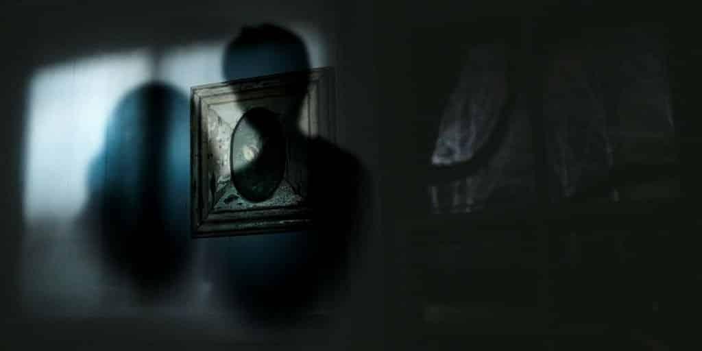 Sombra de duas pessoas