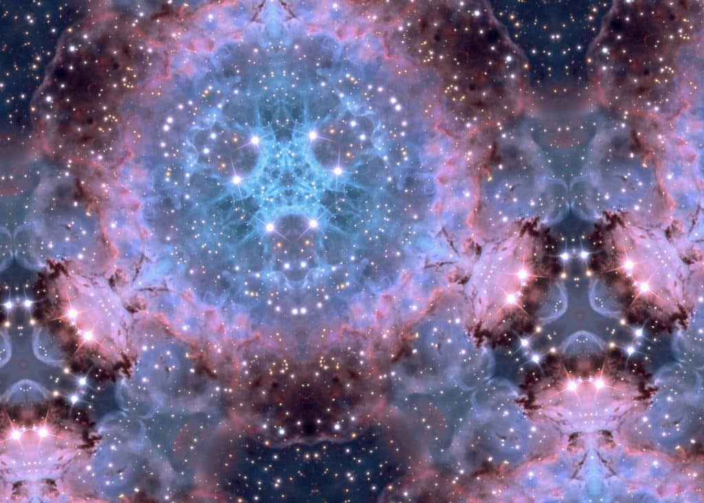 Representação do espaço com formas geométricas