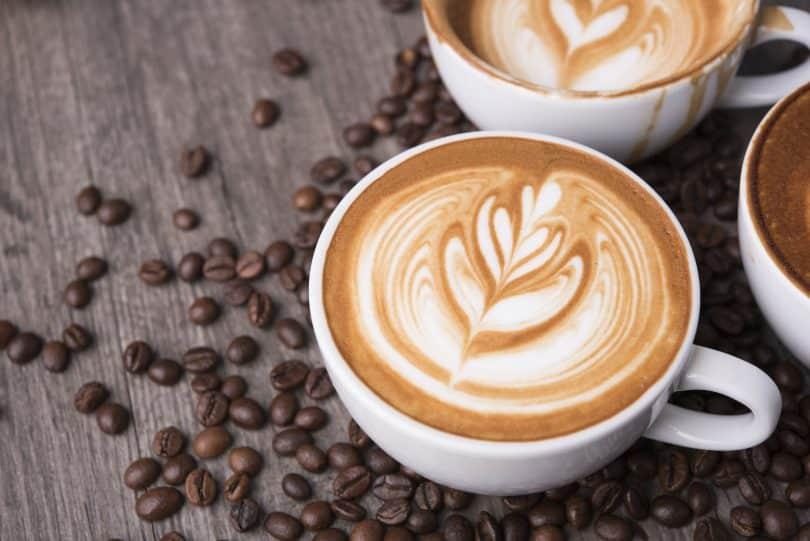 Xícara de café.