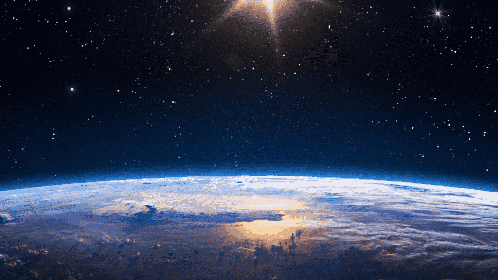 Foto do planeta terra