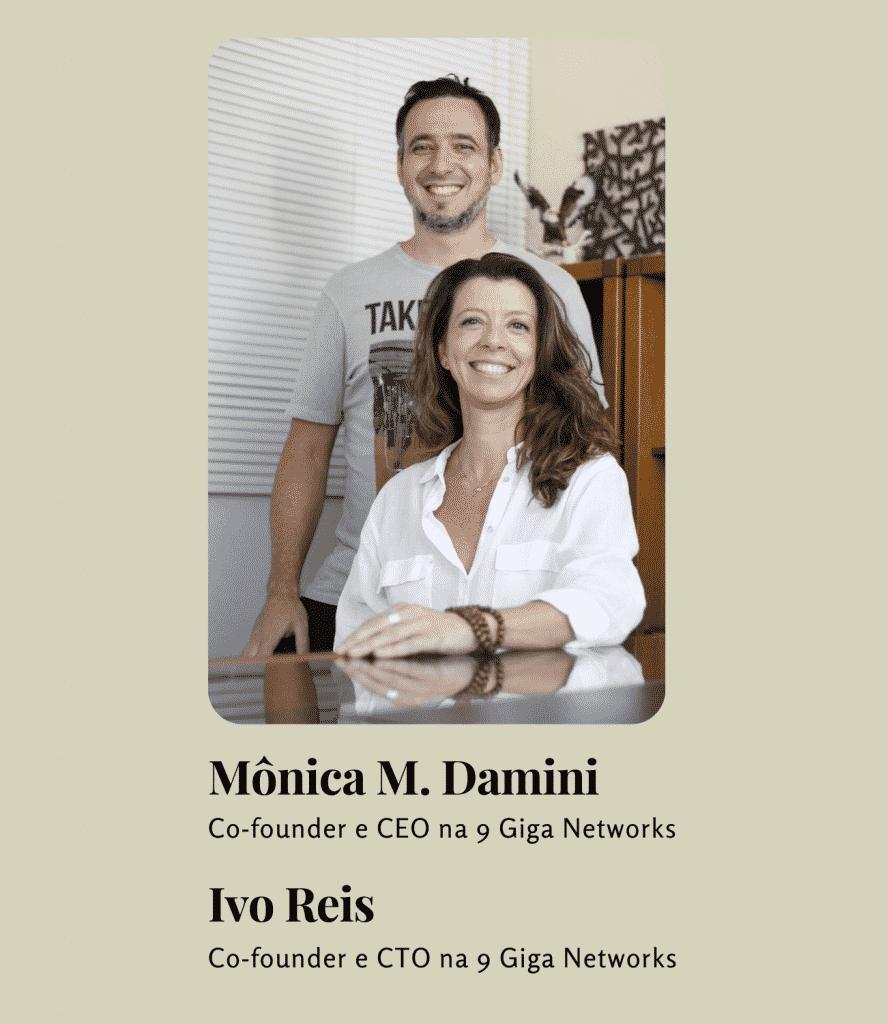 Foto de Ivo Reis e Mônica Damini.
