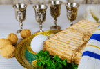 Imagem da ceia judaica chamada PESSACH