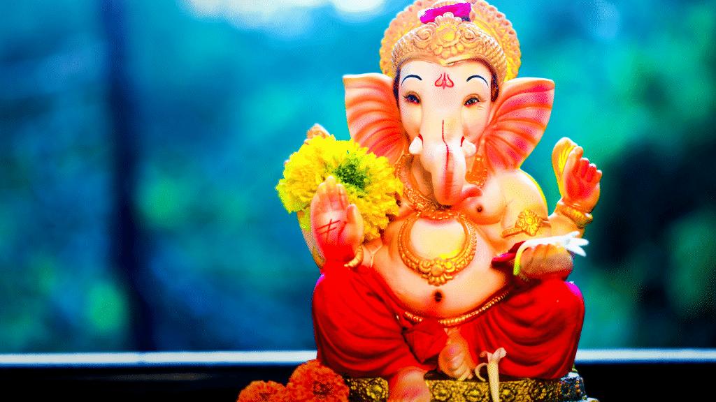 Imagem do Deus Ganesha