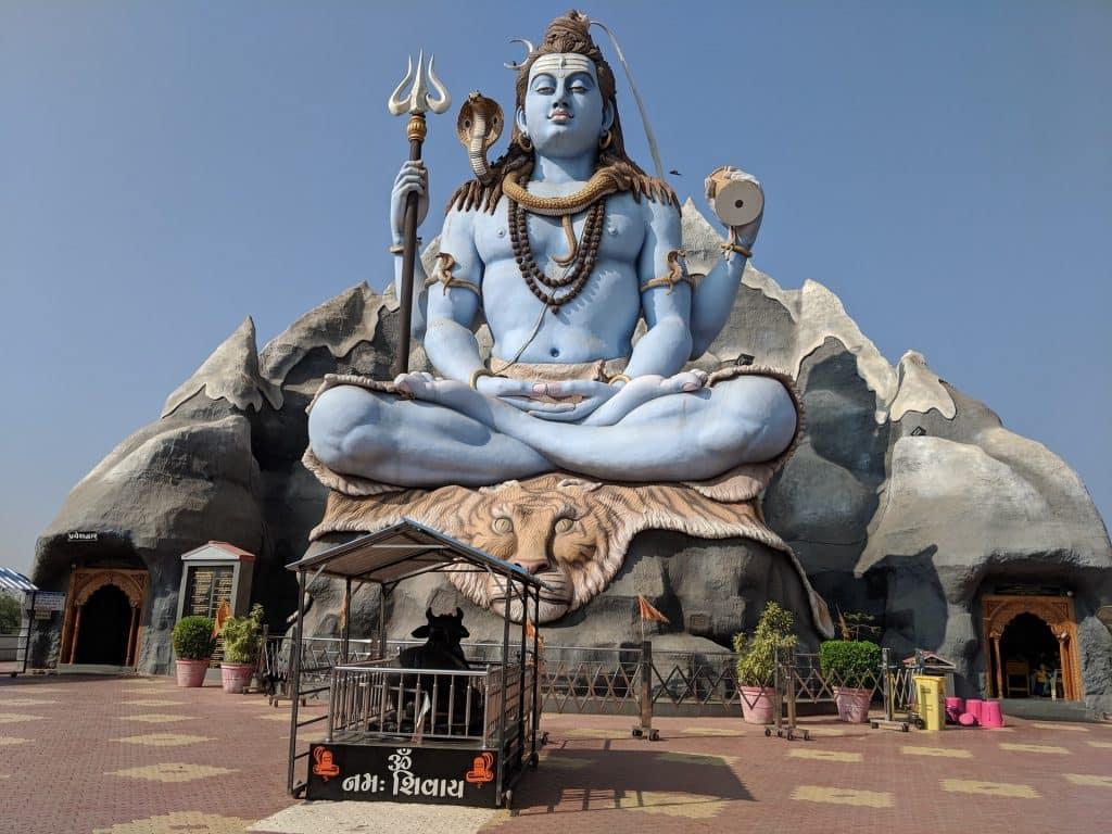 Estátua de Shiva.