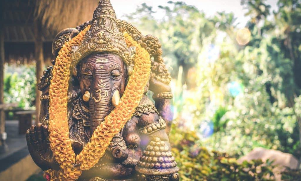 Estatueta de Ganesha.