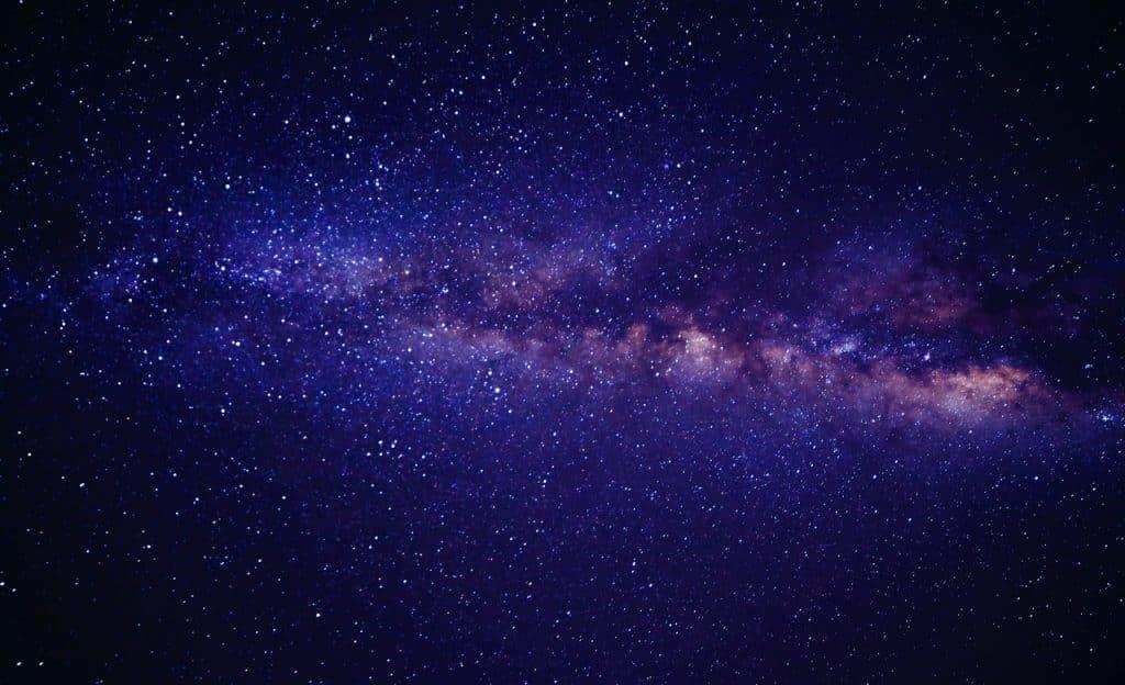 Galáxia estrelada.