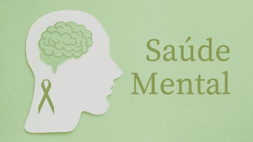 Representação do símbolo de campanha para saúde mental