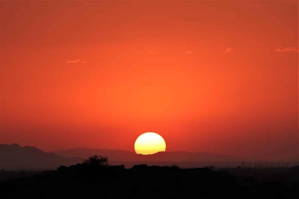 Nascer do Sol.