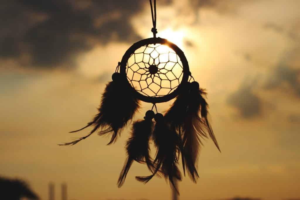 Filtro dos sonhos direcionado ao céu